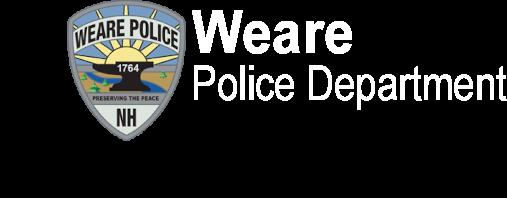 Weare Police Department logo