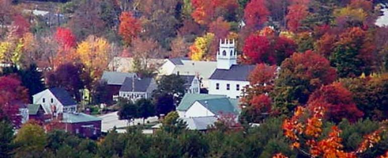 Overhead view of Weare, NH